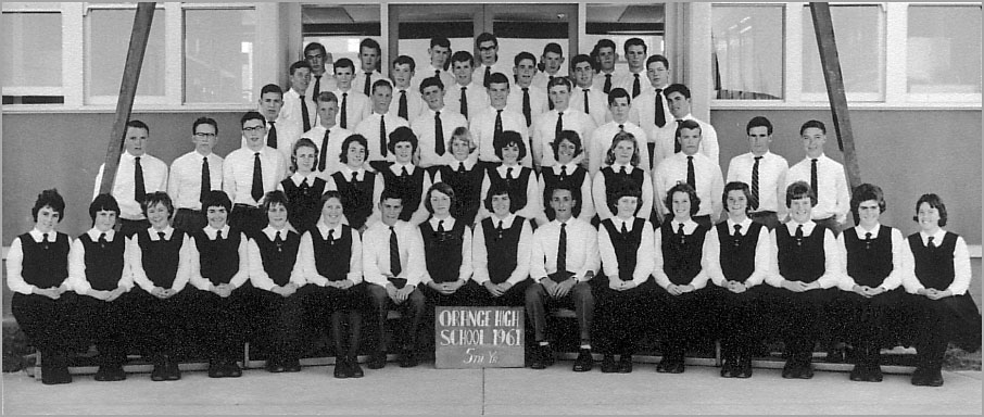 OHS Leaving Certificate Class of 1961